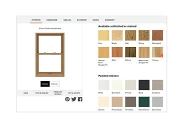 Use this Andersen® Windows tool to create the perfect window and door design.