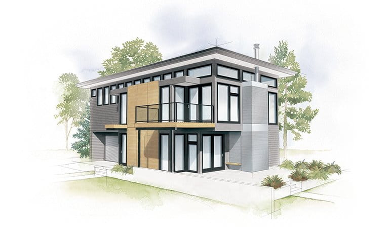 Industrial Modern Home Style