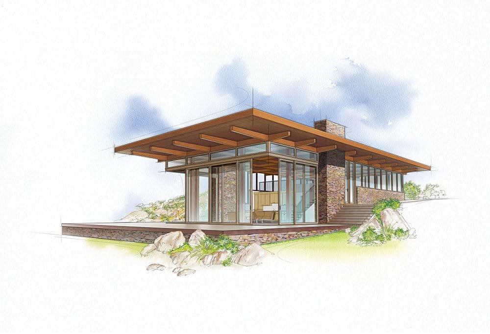 Miesian Modern Home Style
