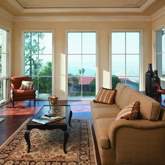 French Eclectic windows