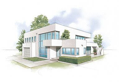 International Modern Home Style