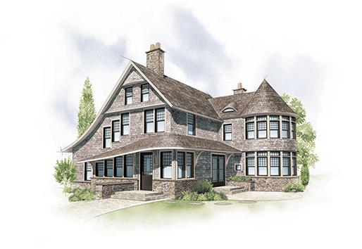 shingle home style