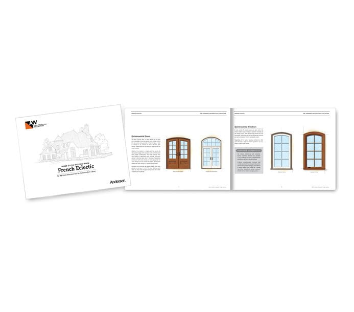 French Eclectic Home Style pattern book
