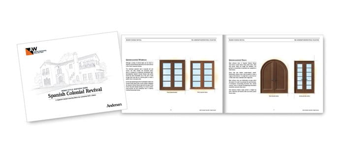 Spanish Colonial Home Style Pattern Book