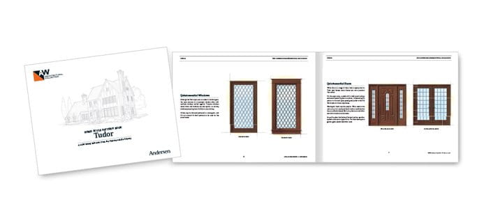 Tudor Home Style Pattern Book