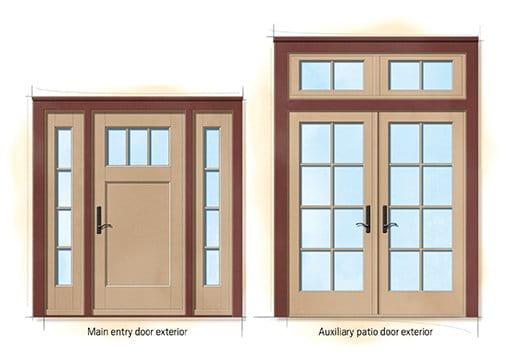 american farmhouse quintessential doors  sc 1 st  Andersen Windows & American Farmhouse Home Style
