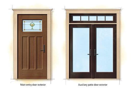 Craftsman Bungalow Doors  sc 1 st  Andersen Windows & Craftsman Bungalow Home Style