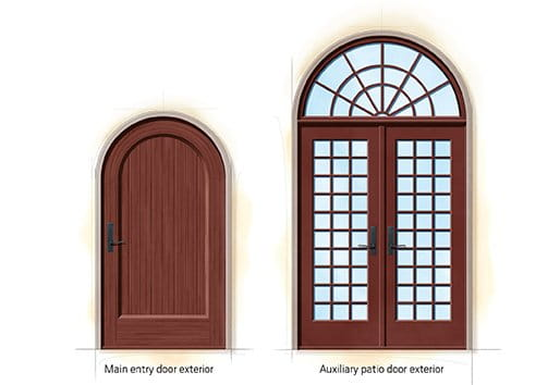 Mission Revival Quintessential Doors  sc 1 st  Andersen Windows & Mission Revival Home Style