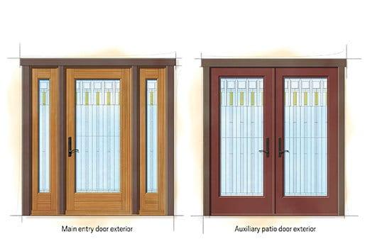 ... Homeu0027s Design. Prairie Quintessential Doors