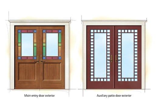 Queen Anne Quintessential Doors