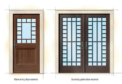 Shingle Quintessential Doors