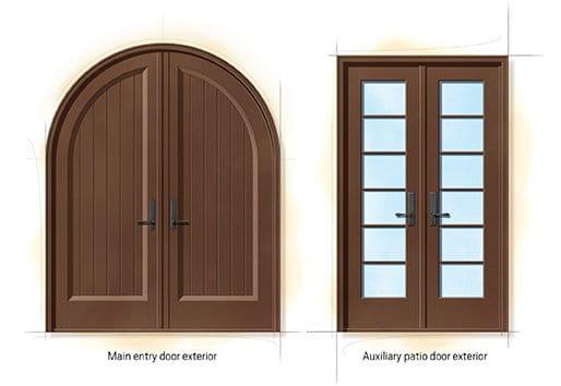 Spanish Colonial Quintessential Doors