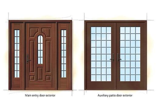 Tudor Quintessential Doors