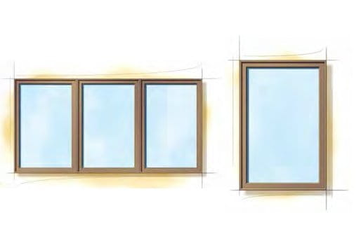 Miesian Modern Windows