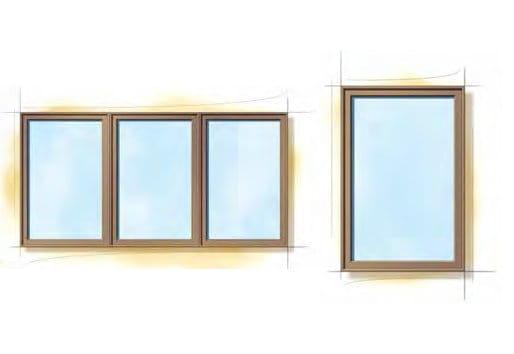 Miesian Modern Windows