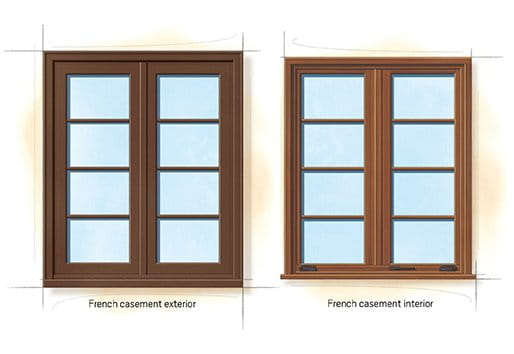 Colonial trim details standard 2 colonial oak genuine for Colonial window designs