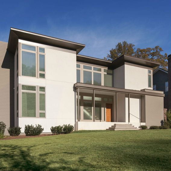 100 Series Modern Windows Exterior View
