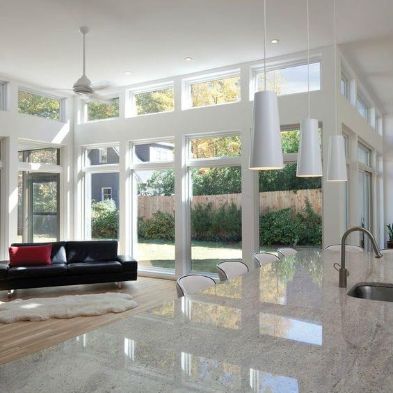 100 Series Modern Windows Interior View