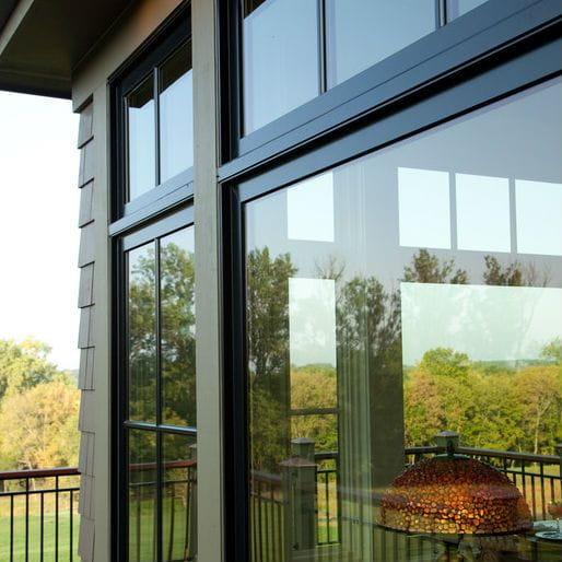 A Series Modern Windows Exterior View