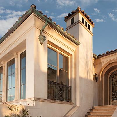 California Eclectic Window Example