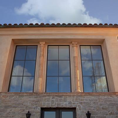 California Eclectic Home Windows