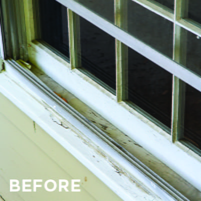 100 Series Replacement Windows Before/After