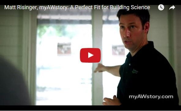 MyAWStory Matt Risinger Andersen Windows Testimonial
