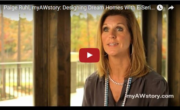 Watch Paige Ruhl's AW Story, showcasing Andersen E-Series windows and doors.