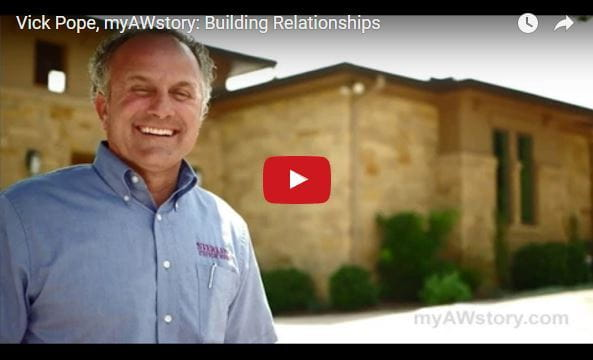 MyAWStory Vick Pope Andersen Windows Testimonial