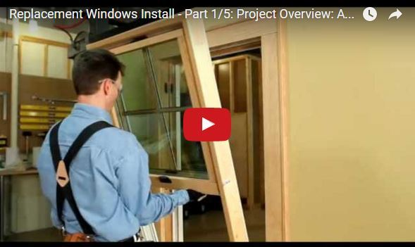 Insert Window Replacement Installation
