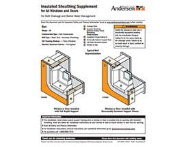 Insulated Sheathing Supplement Icon