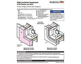 Rigid Insulation Supplement Icon