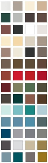 exterior colors E-Series