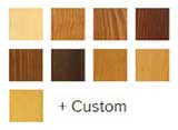 e-series interior wood finishes