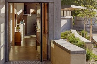 Pivot Door & Big Doors | Moving Glass Wall Systems | Andersen Windows