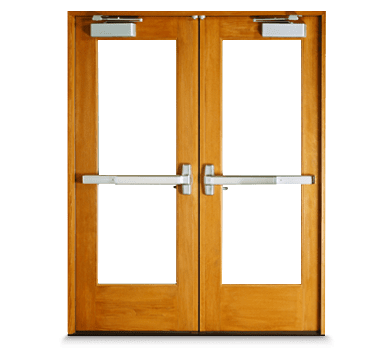 Entry doors entranceways - Commercial interior doors with window ...