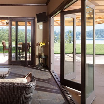 Folding outswing door for Folding patio doors