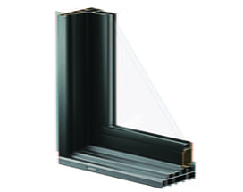 100 Series gliding door frame