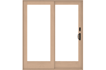 Wood sliding patio doors Replacement Aseries Frenchwood Sliding Glass Doors Andersen Windows Andersen Gliding Patio Doors At The Home Depot