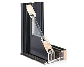 E-Series gliding door frame