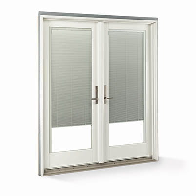 White Exterior Blinds-Between-Glass