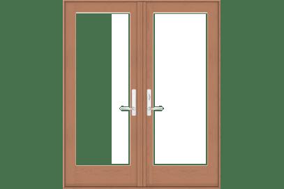 E Series Hinged Patio Doors