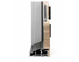 panel profile hinged door