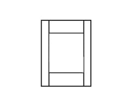 E-Series Hinged Door Transom Panel