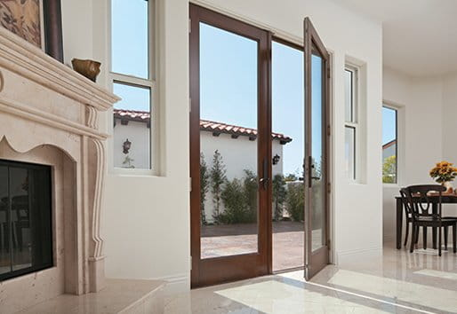 hinged patio doors andersen - Exterior Patio Doors