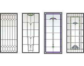 A series casement window for Andersen windows art glass