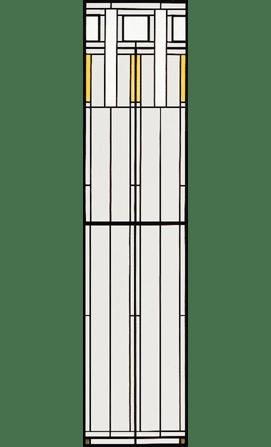 Andersen Art Glass Patterns Collonade