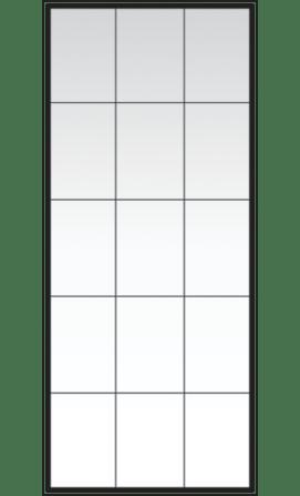 Andersen Art Glass Patterns Rectangular Grid