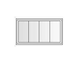 Awning Specified Equal Light Grille Pattern