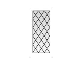 Diamond Grille Pattern